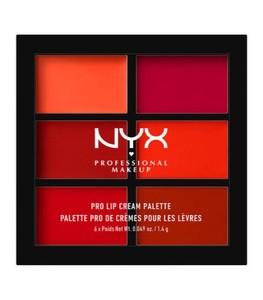 Pro Lip Cream Palette / The Reds -